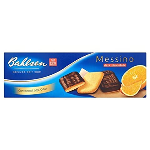Bahlsen Messino Chocolate Orange Sponge Biscuits