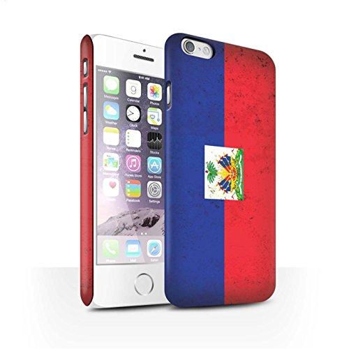 STUFF4 Matte Snap-On Hülle / Case für Apple iPhone 7 Plus / Dominikanische Republik Muster / Amerika Flagge Kollektion Haiti/Haitian