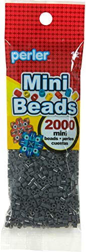 Perler Mini Bead Bag Dark Grey, One Size