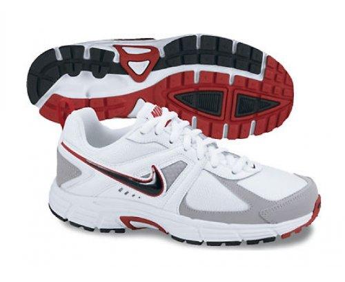Nike Roshe One Retro, Chaussures De Sport Pour Homme Blanc / Noir / Argent / Rouge