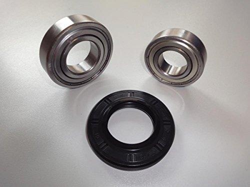 Trommellager Kugellager Lagersatz Reparatursatz passend für viele Gorenje Waschmaschinen Wellendichtung 122448 40x72x79 6205 6207 ZZ