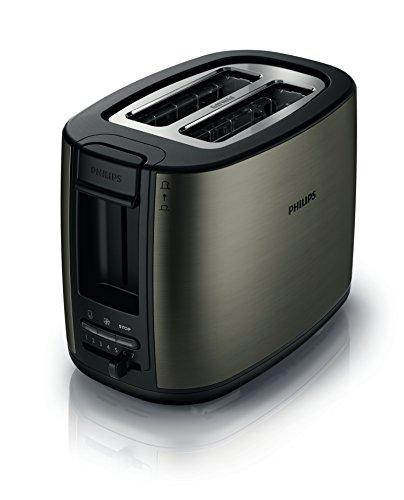 Philips HD2628/80 - Tostador (Metal, 2 ranuras, 2 funciones)