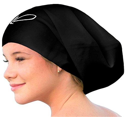 Swimming Cap for Long Hair - Extra Large Swimming Cap - Long Hair Swim Cap  for 1a141d698219