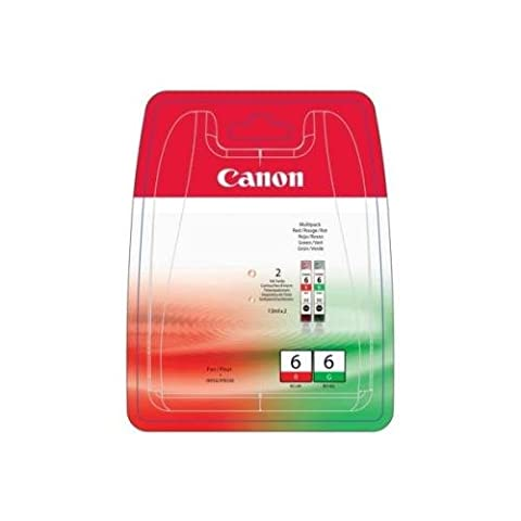Canon BCI 6 R/G Multipack Cartouche encre d'origine Rouge /