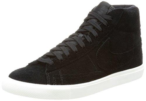 Nike Herren Blazer Mid Hohe Sneaker, Schwarz (Black/Black-Summit White), 40 EU (Nike High Heels Sneakers)