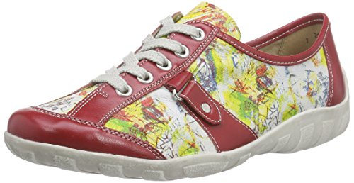 Remonte R3431 Damen Sneakers Mehrfarbig (fire/weiss/rot-multi / 33)