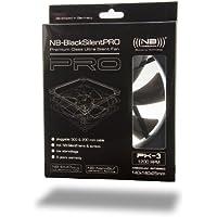 (((noiseblocker))) BlackSilentPro PK-3 - 140x140x25mm - 3Pin - 1700U/min - 33dbA - 153m3/h