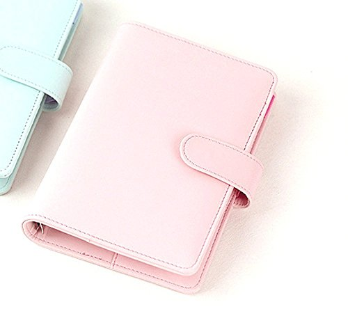 Passion leather spiral notebook Original office personal diary/week planner/agenda organizer Cute ring stationery binder A6 by juneTree (Planner Personal)