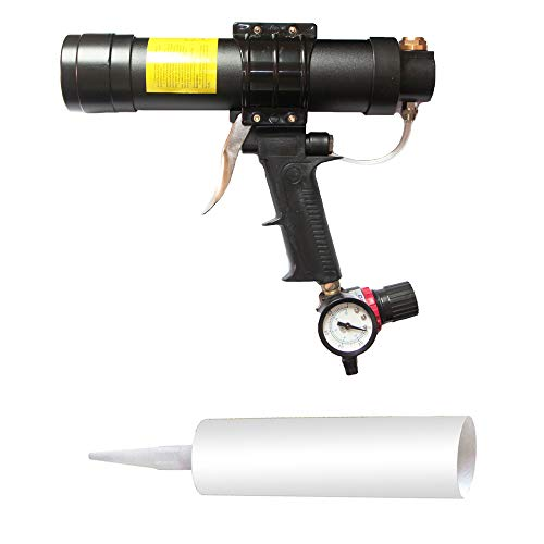 Zylinder Druckluft Kartuschenpistole-TopSer CK-310310ml Air Kartuschenpistole mit 23 cm Aluminium Schaft für 310ml Glas Kleber für Home Dekoration, Kleber Konstruktion Industrie, Hardware Tools