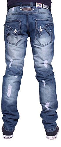 Peviani -  Jeans  - Uomo Stonewash Blue