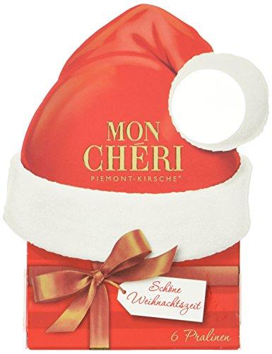 Preisvergleich Produktbild Mon Chéri Deko-Anhänger Weihnachten,  4er Pack (4 x 63 g)