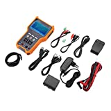 Akozon Analog Camera Tester Sicherheit CCTV DT-N73 4 in 1 Digital LCD HD Kamera Videotester Multimeter für CVI TVI 8MP AHD 5MP Analoger Überwachungskamera Monitor Detektor PTZ-Steuerung(EU Stecker)