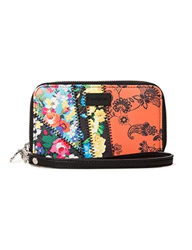Desigual Damen Wallet Gipsy Mini Zip Women Geldbörse, Rot (Ketchup), 2x9x15 cm