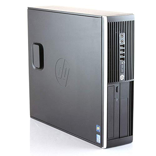 HP Elite 8300 - PC Ordenador de sobremesa (Intel Core i5-3470, 8GB de RAM, Disco SSD de 240GB + 250GB HDD, Lector DVD, HDMI, Windows 10 Pro ES 64) - Negro (Reacondicionado)