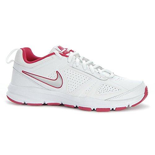 Nike T-Lite Xi, Chaussures de sports extérieurs femme Blanc, argent et rose