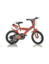14 Zoll CARS Lightning Kinderfahrrad Kinderrad Spielrad Fahrrad Rad Bike DINO-Bike