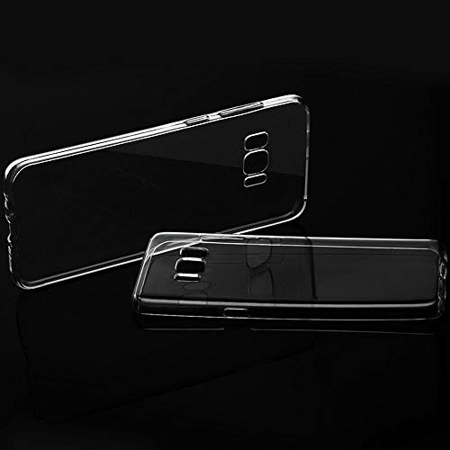 Original Samsung Galaxy Android Phone - S8 Plus G955 Ultra Thin Soft Silicone Transparent Clear Case Anti Scratch Impact Phone Cover - Plate Protection Pixel Kyocera Case Wallet Mobile Shark X