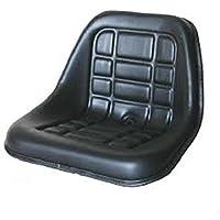 Asiento para tractor Cobo con rieles para Fiat, Same, Landini (compatibilidad no garantizada con vehículos con conductor en lado izquierdo)