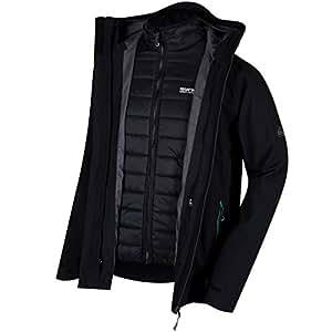 Regatta Wentwood Jacket Man, Mens, Wentwood, black, Medium