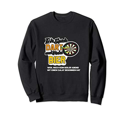 Lustiges Dart Shirt I Darts und Bier Sweatshirt -