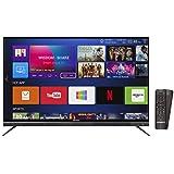Shinco 140 cm (55 Inches) 4K UHD Smart LED TV S55QHDR10 (Black) (2018 model)