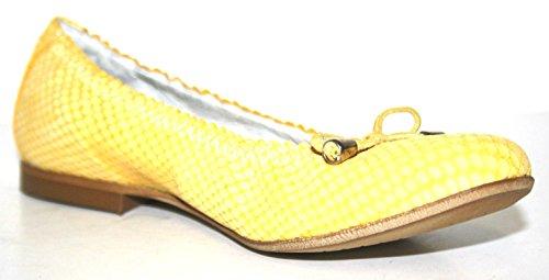 Cherie Kinder Schuhe Mädchen Ballerinas 7767 (ohne Karton) Gelb