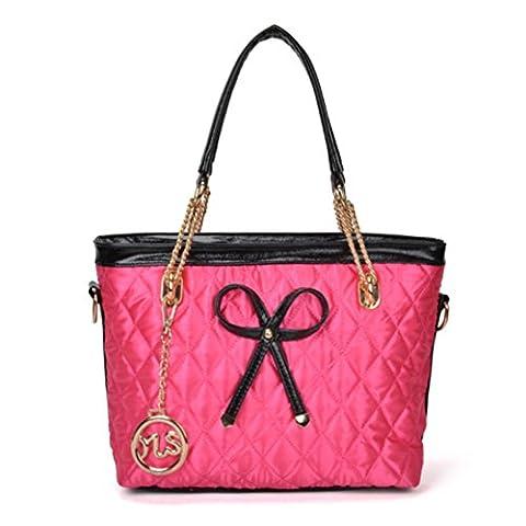 bow de mode sac à chaîne Lingge/Les sacs à main de la femme/Sac à bandoulière/Sacs Messenger-B