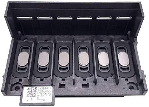 Testina di Stampa Stampante Parti Stampa Testa per Epson XP600/XP601/XP950/XP820 Stampanti, Spray Ugello Plastica Portatile Ufficio Stampa Testa UV Stampante - Nero
