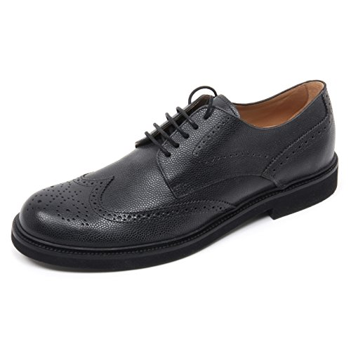 Bucature Shoe Nero Man Tods Scarpa B8327 Uomo Inglese