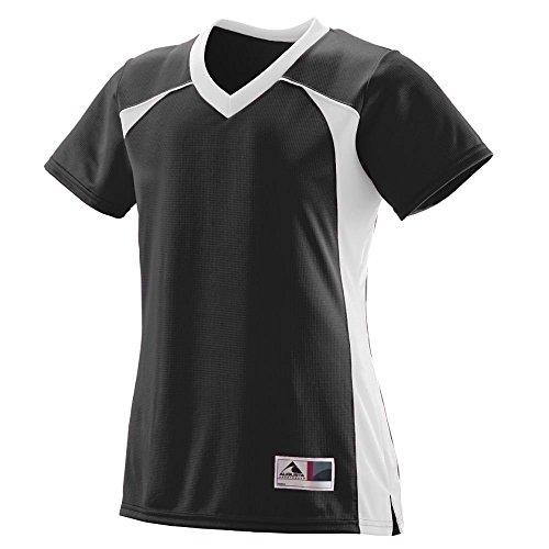 Augusta - T-shirt de sport - Femme Multicolore - Noir/blanc