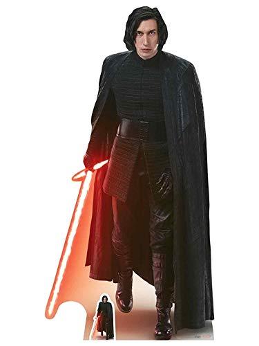 n Kylo Ren (die Letzten Jedi) Ausschnitt, Holz, Mehrfarbig, 188x 95x 188cm ()