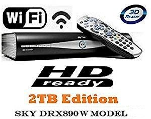 SKY DRX890W 2TB SKY  HD BOX Set-top Box  Certified Refurbished  with 2 YEAR WARRANTY