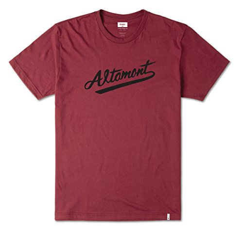 Herren T-Shirt Altamont Kennett T-Shirt Brick