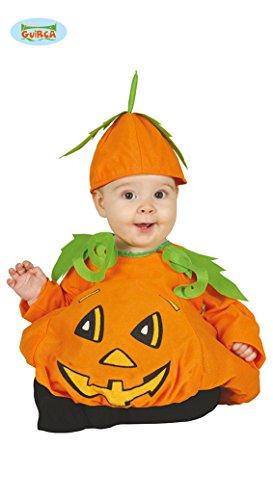 Costume vestito zucca di halloween, bebè 6-12 mesi