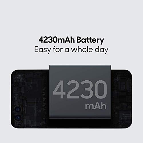 OPPO A7 (Glaze Blue, 3GB RAM, 64GB Storage) with No Cost EMI/Additional Exchange Offers