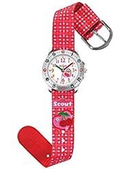 Scout Mädchen-Armbanduhr Analog Quarz Textil 280378005