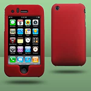 iPhone 3G and 3GS 8GB 16GB 32GB Cover Hybrid Case Red From Keep Talking iPhone Accessories