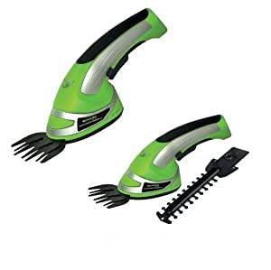 As Direct Ltd ™ Cordless 2-in-1 Grass Shrubs & Hedge Trimmer And Cutter - Battery Operated