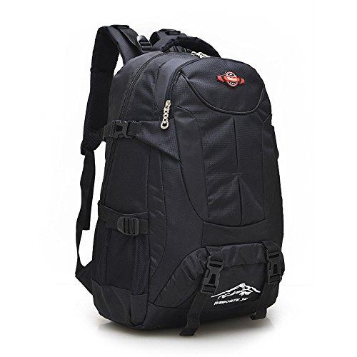 Escursionismo Zaini, borse, borse da trekking, borse all'aperto, impermeabile Zaino di viaggio zainetto escursionismo sacco impermeabile zaino viaggio,blu navy black