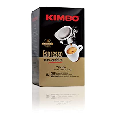 Kimbo 100% Arabica ESE Coffee Pods - 18 Pods