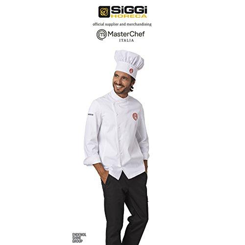 Giacca Cuoco Originale Masterchef Siggi XL