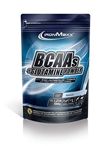 IronMaxx BCAA Pulver + Glutamin Pulver