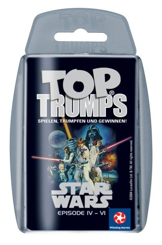 Preisvergleich Produktbild Winning Moves - Top Trumps Star Wars IV - VI