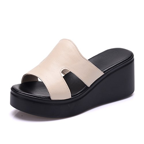 ZPPZZP Ms sandali pantofole spessa punta aperta 37EU