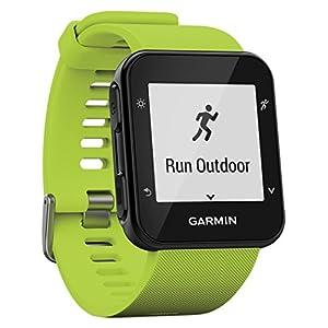 Garmin Forerunner 35- Reloj GPS con Monitor de frecuencia Cardiaca en la muñeca, Monitor de Actividad y notificaciones Inteligentes, Color Lima