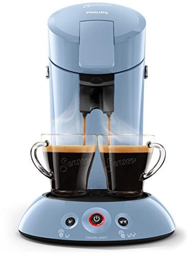 Philips Senseo HD6554/70 Kaffeepadmaschine (Crema Plus, Kaffeestärkewahl) hellblau