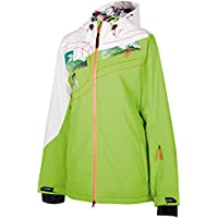 Chiemsee Funktionsjacke Happy Coole Skijacke Wasserdichte Reißverschlüss - Chaqueta de esquí para mujer, color multicolor, talla S