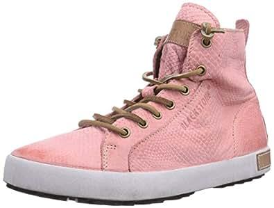 Blackstone Hl81, Sneakers Hautes Femme - Rose (pink), 39 EU