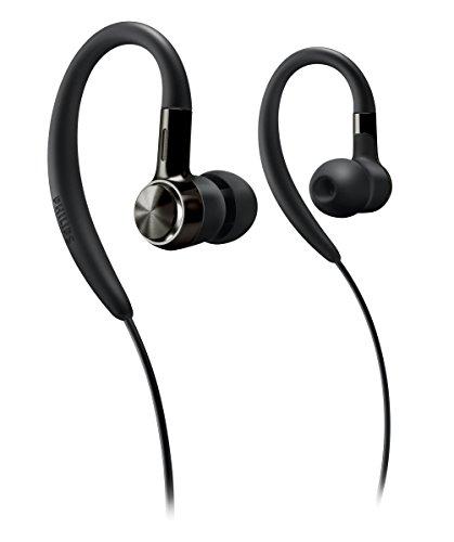 Philips SHS8200BK/10 in-Ear Ohrhörer (Extra Bass, Ohrbügel) Schwarz