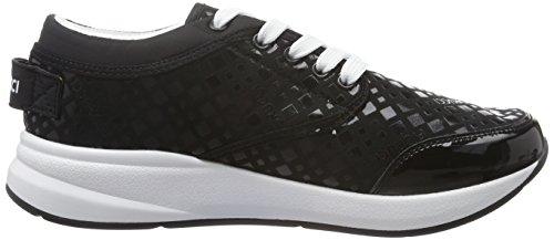 Fdab008 Sneakers Fiorucci Mulheres nero Preto OEv6wq